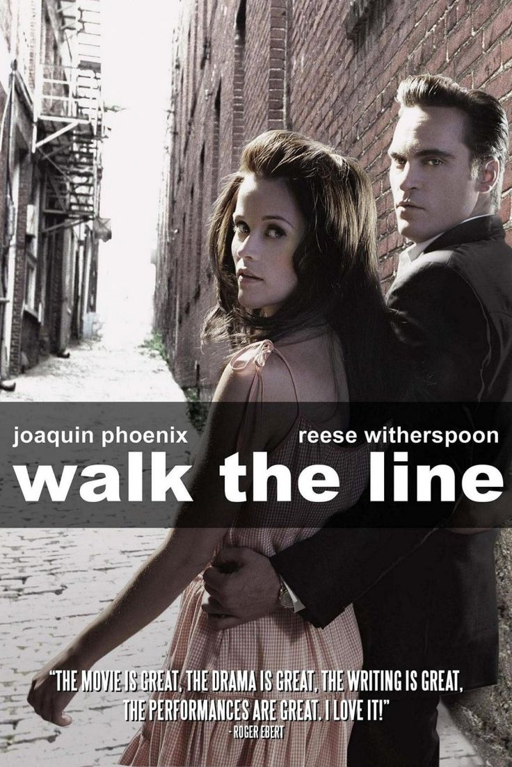"""""""Walk the Line""""--2005--Witherspoon and Phoenix Acted Their Way Right Off The Screen & Into My Heart In This Great Carter/Cash Bio....Super Movie With A Great Script, Music to Die For, and Performances By Both the Leads That Were Oscar-Deserving...Glad Reese Got Hers...I've Seen This One Over & Over!!"""