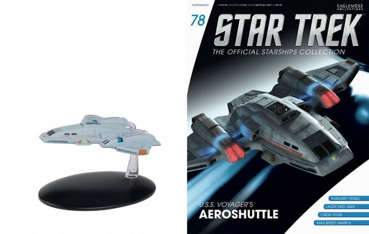 Star Trek Official Starships Collection Magazine with Model #78