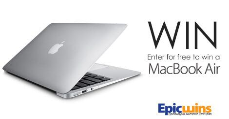Enter the Epic Wins MacBook Air Giveaway!