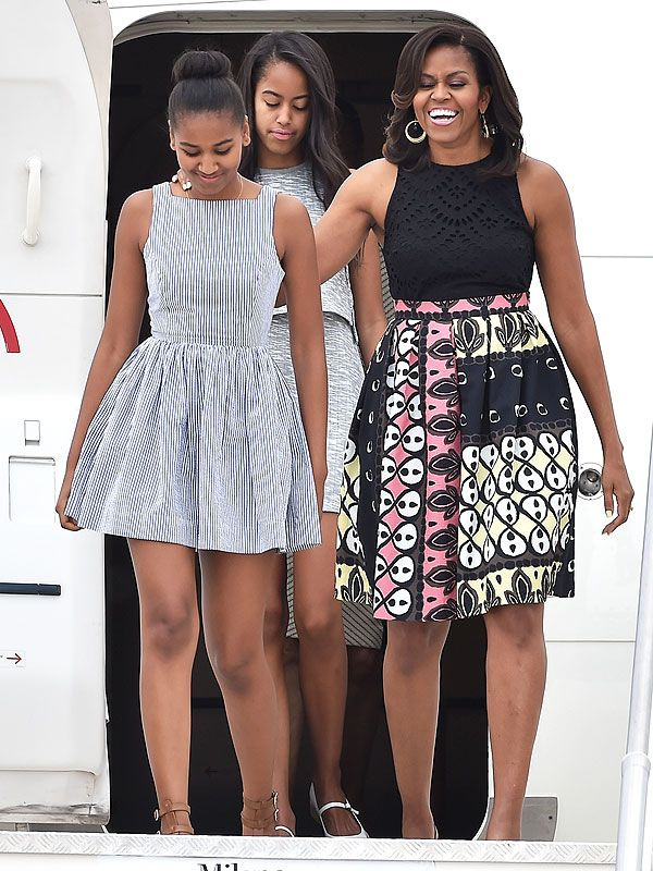 Michelle Obama Continues Her International Style Streak with Three Bold New Looks http://stylenews.peoplestylewatch.com/2015/06/19/michelle-obama-style-streak-italy-photos/