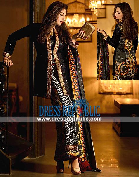 Asim Jofa Pakistani Party Wear In Chiffon And Silk | Shop Newly Arrived Designer Collections pakistani party dresses, pakistani party wear, pakistani party wear dresses 2013, asim jofa raw silk party wear, asim jofa charmeuse silk pakistani dresses, asim jofa party clothes 2013, embroidered pakistani dresses by asim jofa, black charmeuse raw silk dress jofa, digital print back dress asim jofa, asim jofa ajr-04b, asim jofa ajr 4b Pakistani's best online fashion store carries the trendiest ...