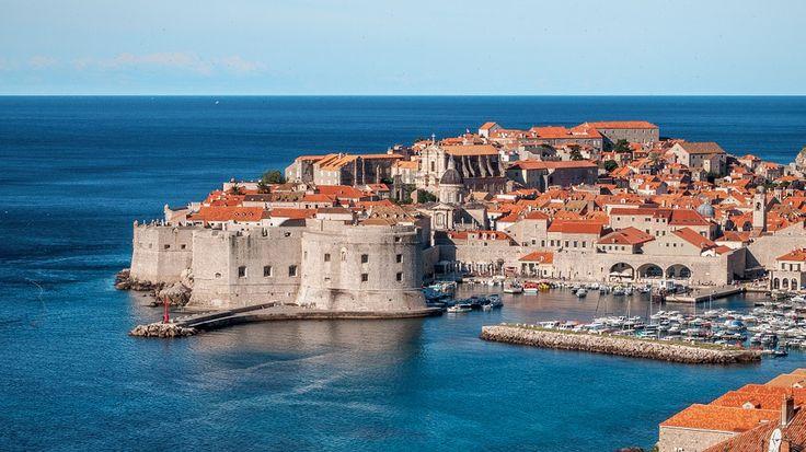 ドブロヴニク, クロアチア, 王の着陸, 市, 町, ヨーロッパ, 海, 古い, 観光, アーキテクチャ