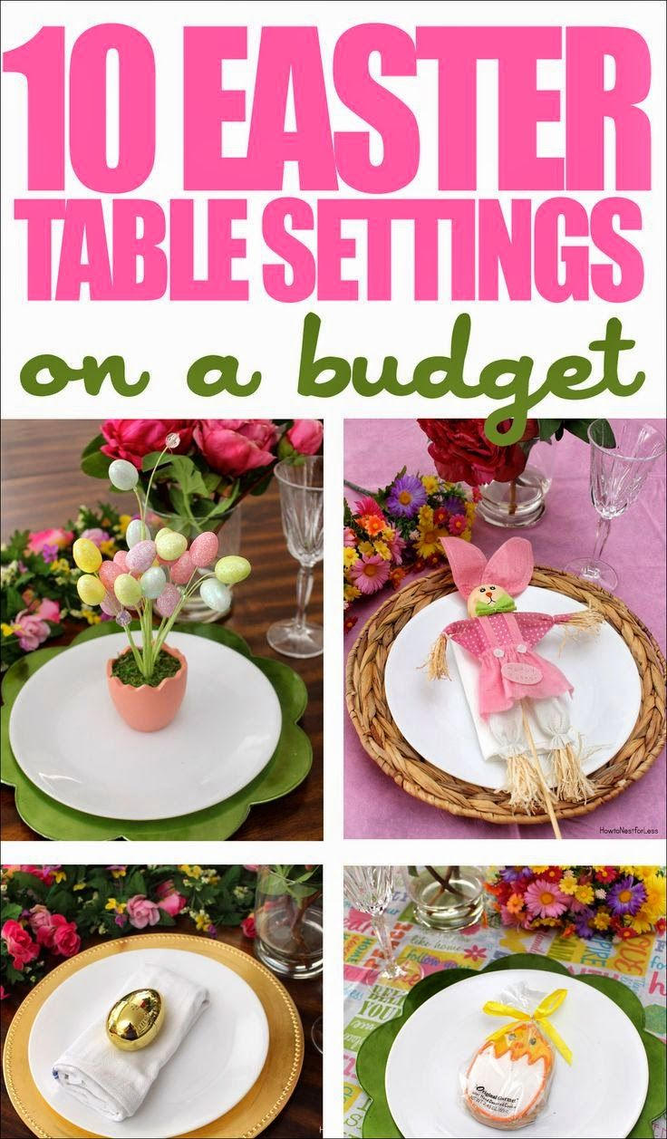 Best DIY Projects 10 Easter Table Setting Ideas on a