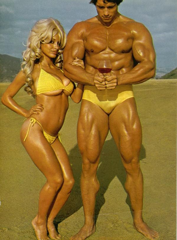 Arnold Schwarzenegger Venice Beach, 70's