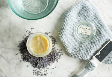 Make This DIY Soothing Balm to Heal Cracked Heels