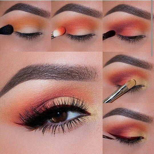 Beautyful eye make up