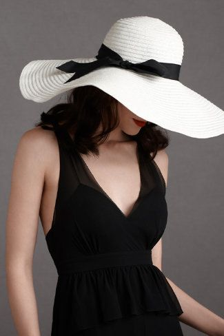Floppy sun hat -I need to sport one of these this summer.
