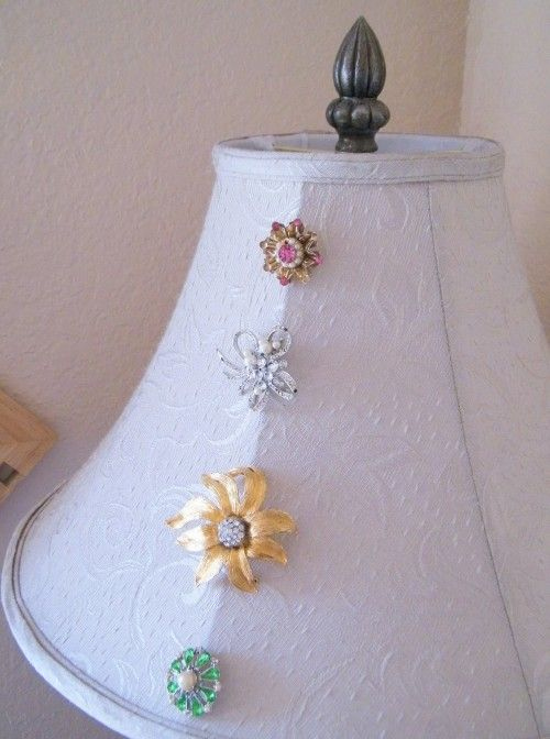 crafts using old jewelry 500x672 Trash to Treasure: Ten DIY Projects Using Old Jewelry