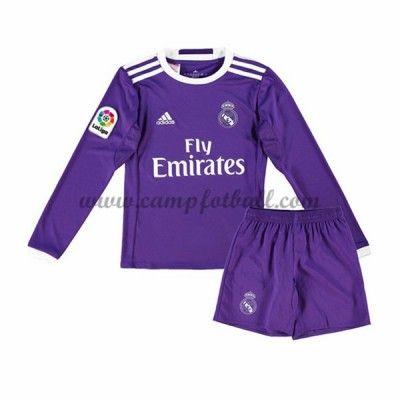Fotballdrakter Barn Real Madrid 2016-17 Borte Draktsett Langermet