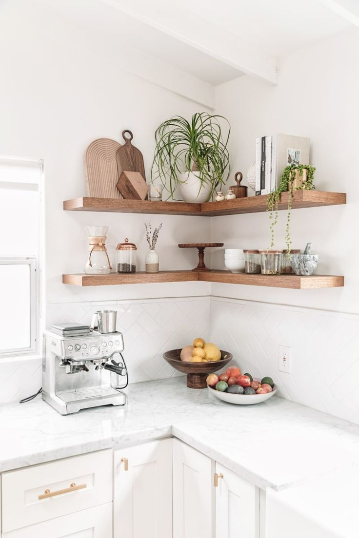 Kitchen Shelves Ideas For Your New Kitchen Open Kitchen Shelves