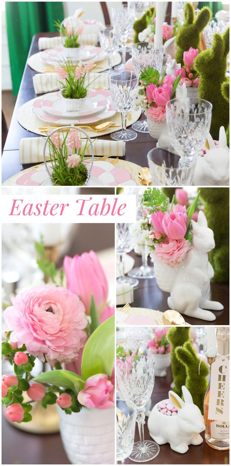 Easter Tablescape Tips and Tricks