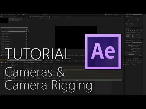 After Effects Tutorial - Cameras & Camera Rigging - YouTube