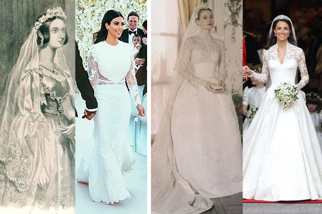 When Did a White Wedding Gown Become a Symbol of Virginity?