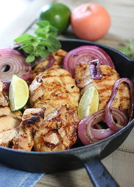 Mojo Marinated Grilled Chicken