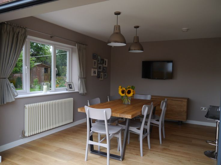 My New Kitchen Dining Room John Lewis Hampton Silver Pendants Asta Chairs