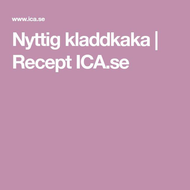 Nyttig kladdkaka   Recept ICA.se