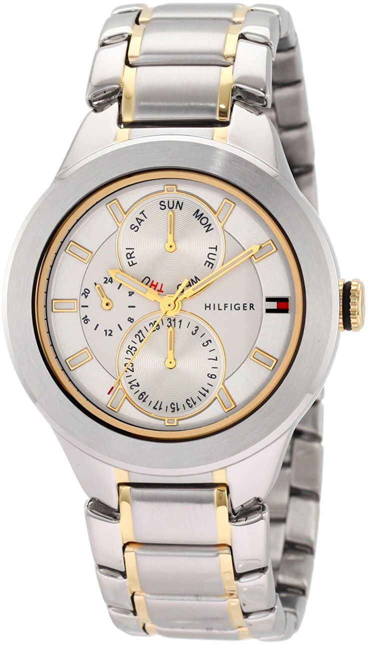 Tommy Hilfiger Men's 1710293 Classic Multi Eye Two tone Watch *** Continue to the watch at the image link.