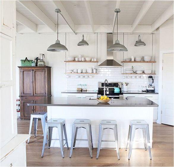 Modern Industrial Style Kitchen: Best 25+ Industrial Farmhouse Kitchen Ideas On Pinterest