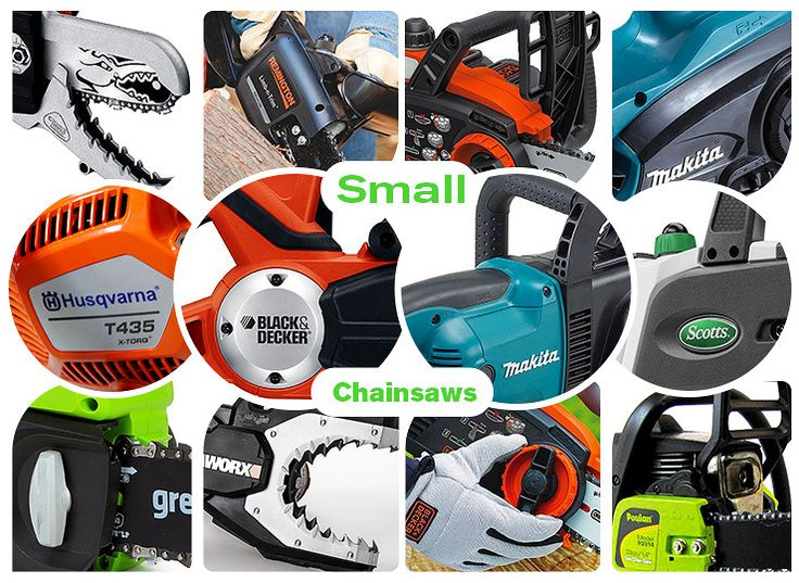 Best small chainsaws for homeowners.