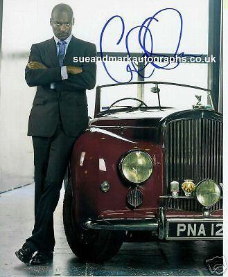 Colin Salmon  James Bond Autograph UACC RD96
