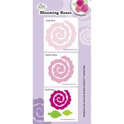 Quilled Creations Quilling Dies: Blooming Paper Rose Flower Die Cuts