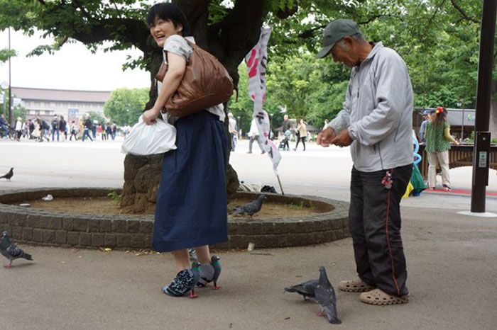 Japanese shoemaker Kyoto Ohata has created a hilarious pair of pigeon-themed high heels and everyone is freaking out.