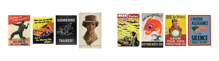 My favorite WW2 propaganda posters [3840 x 1080]