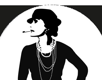 "Check out new work on my @Behance portfolio: ""Coco Chanel"" http://be.net/gallery/38424093/Coco-Chanel"