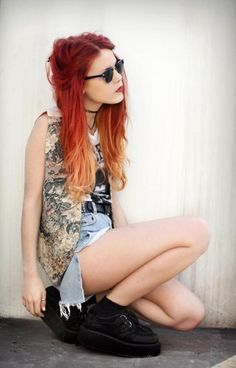 Learn to be a Hipster: Hipter Girl Cloth ~ frauenfrisur.com Female Hipster Style Inspiration