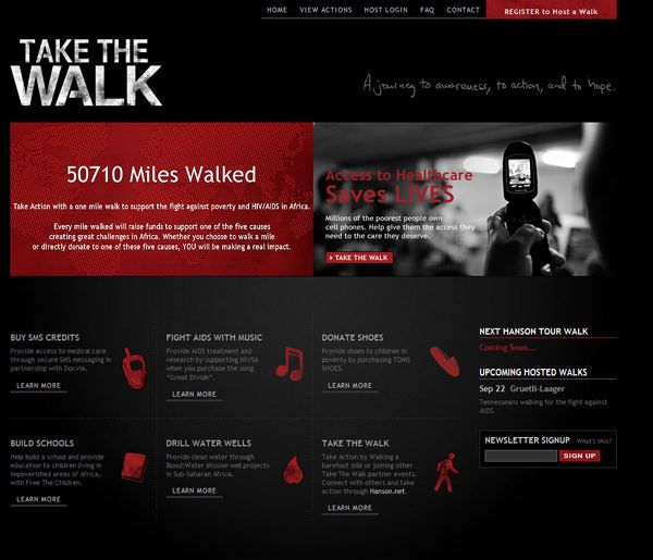 40 Beautiful Dark Color Websites For Your Inspiration