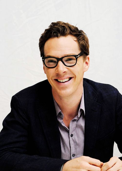 """Benedict Cumberbatch at the press conference for """"The Imitation Game"""" on 15th November, 2014 in Los Angeles"""