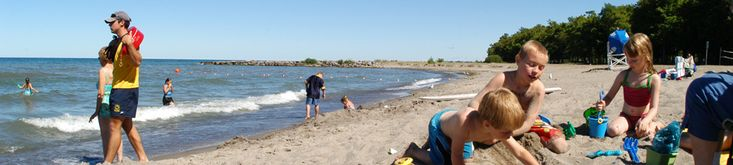 Had a great time here with the family.  Beach was super shallow, great for little ones!