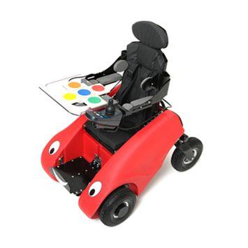 Designability Wizzybug (elektrische kinderrolstoel, Elektrische Binnen Rolstoel Electric Indoor Wheelchair)