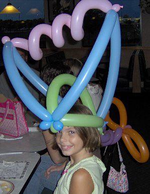 hat #balloon #twisting