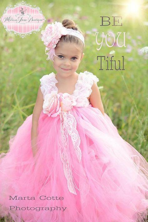 Sweet Paris Pink Tutu Dress by MelissaJaneBoutique on Etsy