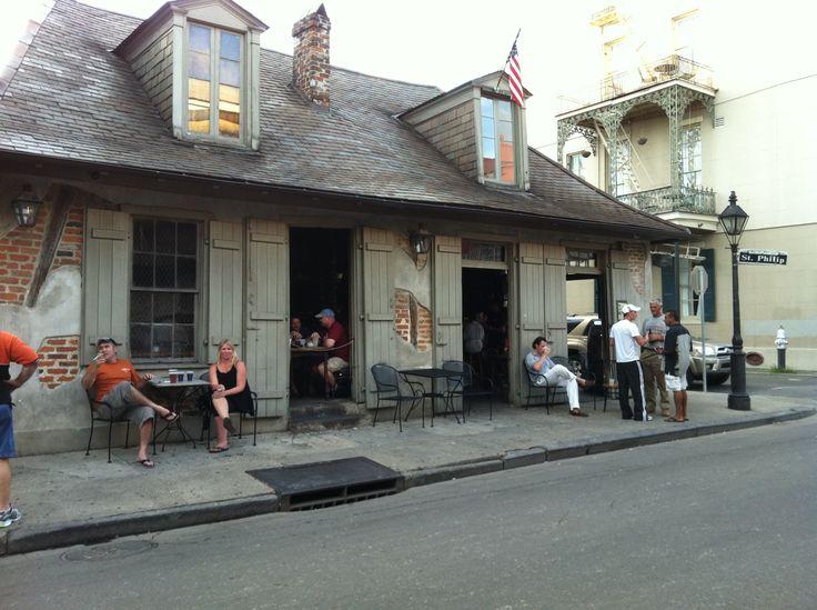 Lafittie's Blacksmith Shop French Quarter New Orleans Louisiana