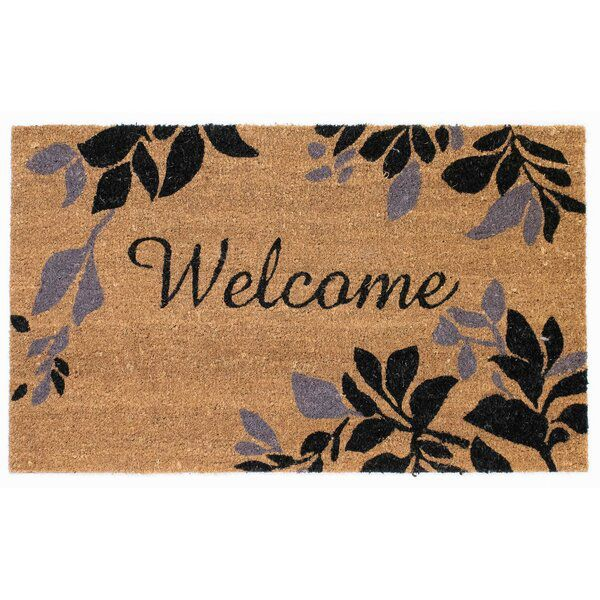 Midhurst Leaves Border Non Slip Outdoor Door Mat Liora Manne Outdoor Door Mat Door Mat