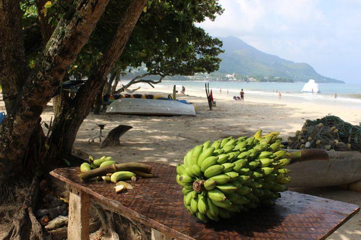 Mahe, Seychelles. Beau Vallon Beach