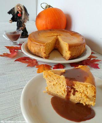 My Culinary Curriculum: Cheesecake au potiron (Pumpkin Cheesecake)