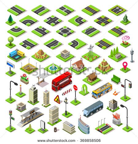 Isometric Building Elements 4 Game Development #gamedev #indiedev #gameinsight #gaming #androidgames #ipadgames #iphonegames http://shutr.bz/2csQwtt
