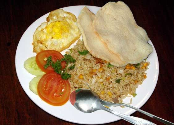 Nasi Goreng (Delicious Indonesian Traditional Fried Rice)