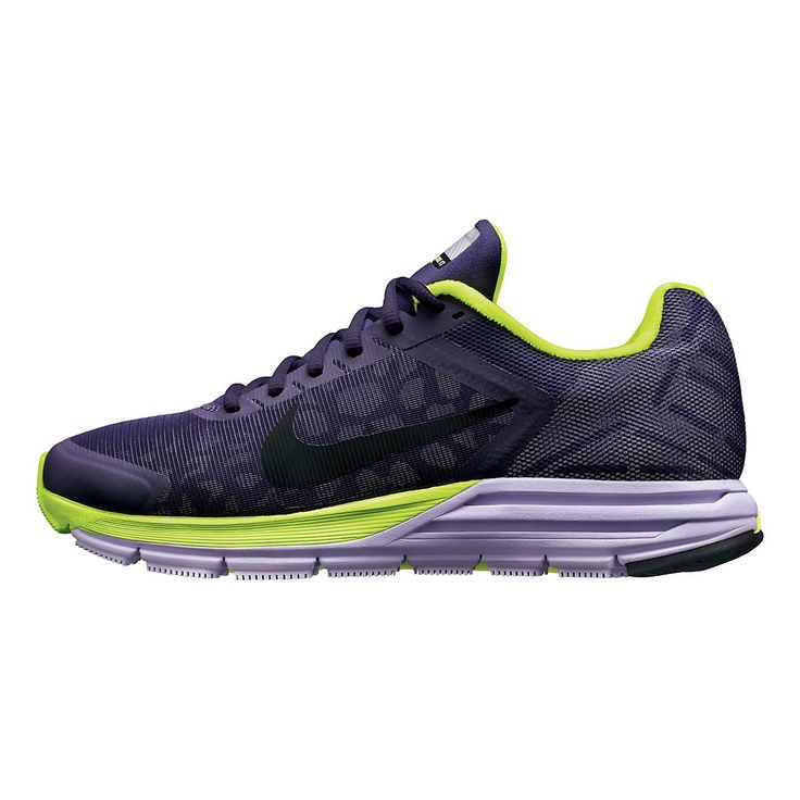 Leave your competitors in the dust, day or night, by running in the Womens Nike Zoom Structure+ 17 Shield