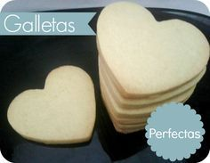 Galletas de mantequilla (perfectas)
