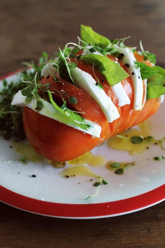 Salada no Tomate