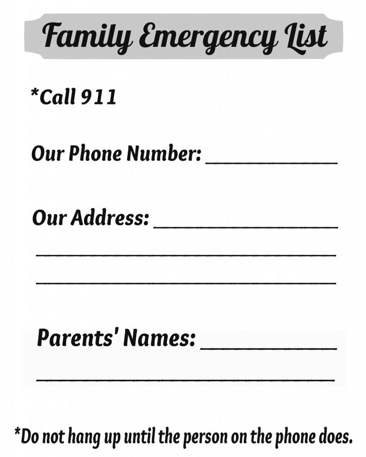 emergency phone list coloring pages - photo#5