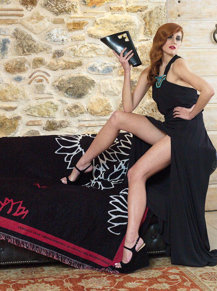 Ριχτάρι Fiore Αrredo 170x150 - Versace