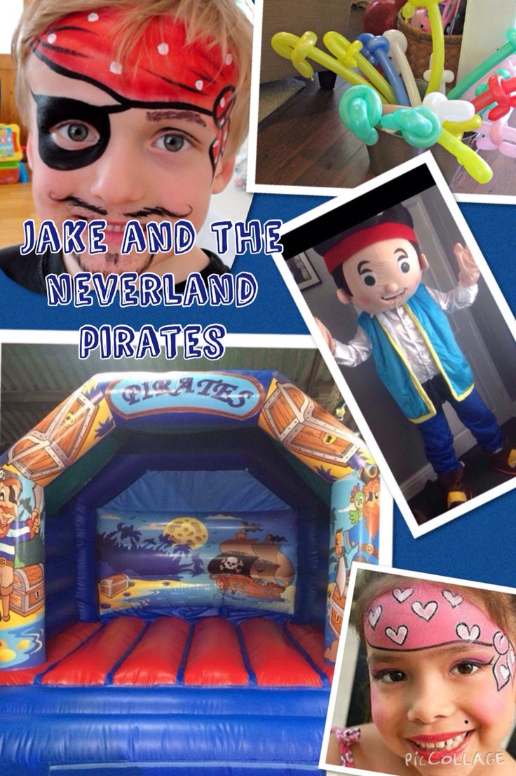 Jake and the neverland pirates themed parties