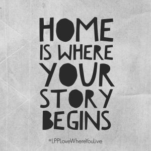 Home is where your story begins | Little Paper Projects #LPPLoveWhereYouLive…