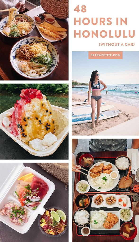 48 Hours in Honolulu // What to eat + Where we stayed