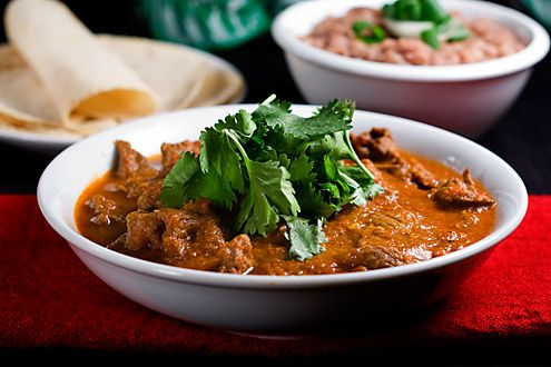 A spicy steak stew that will keep you warm and safe on a cold winter's night.